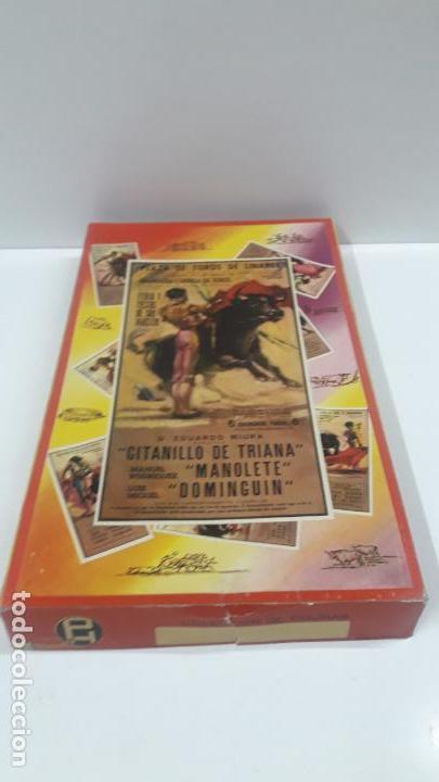 Figuras de Goma y PVC: CAJA DE LA CORRIDA DE TOROS - SIN CONTENIDO . REALIZADA POR PECH . AÑOS 60 - Foto 2 - 163762438