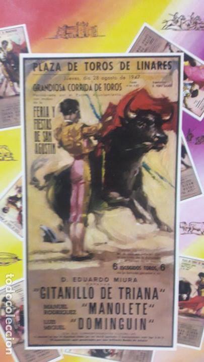 Figuras de Goma y PVC: CAJA DE LA CORRIDA DE TOROS - SIN CONTENIDO . REALIZADA POR PECH . AÑOS 60 - Foto 3 - 163762438