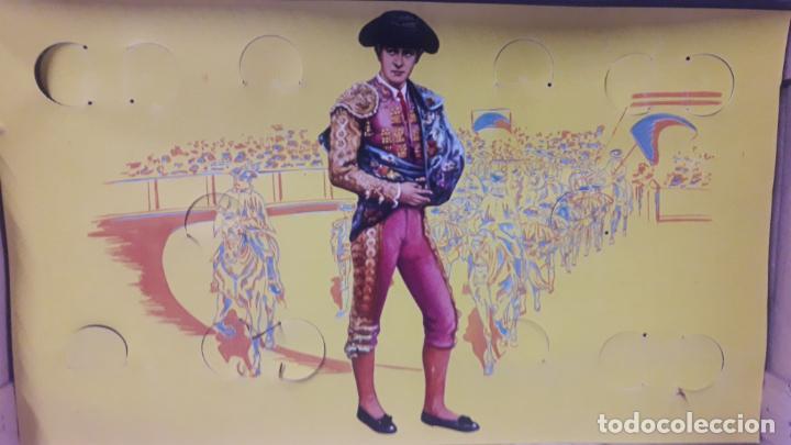 Figuras de Goma y PVC: CAJA DE LA CORRIDA DE TOROS - SIN CONTENIDO . REALIZADA POR PECH . AÑOS 60 - Foto 5 - 163762438