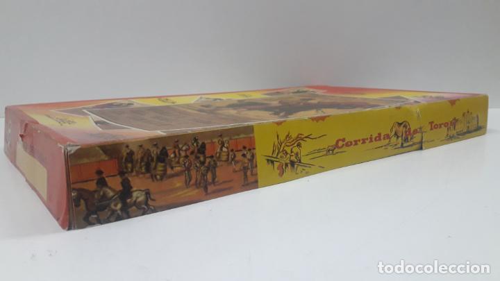 Figuras de Goma y PVC: CAJA DE LA CORRIDA DE TOROS - SIN CONTENIDO . REALIZADA POR PECH . AÑOS 60 - Foto 16 - 163762438