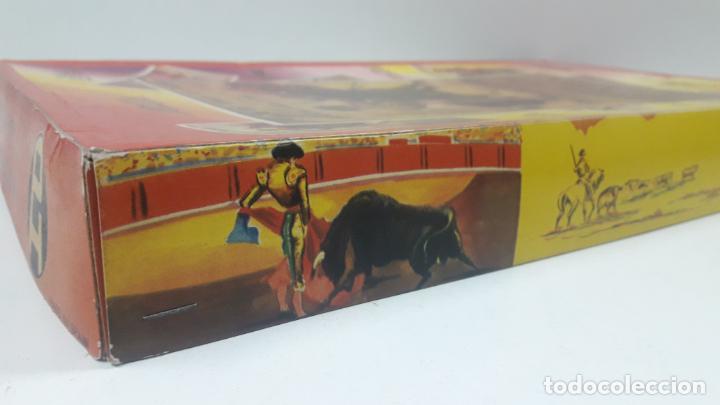 Figuras de Goma y PVC: CAJA DE LA CORRIDA DE TOROS - SIN CONTENIDO . REALIZADA POR PECH . AÑOS 60 - Foto 21 - 163762438