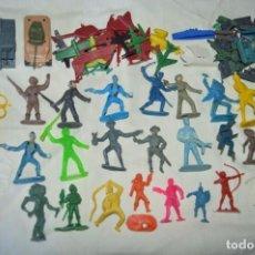 Figuras de Goma y PVC: LOTE DE FIGURAS MUY VARIADAS DE REAMSA, COMANSI, MONTAPLEX Y OTRAS, ANTIGUAS, ¡MIRA FOTOGRAFIAS!. Lote 163764046