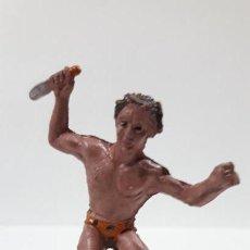 Figuras de Goma y PVC: TARZAN . REALIZADO POR LAFREDO . AÑOS 50 EN GOMA. Lote 163765542