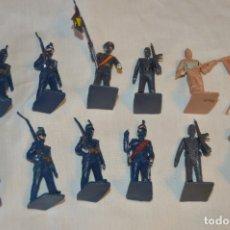 Figuras de Goma y PVC: VINTAGE - LOTE DE SOLDADOS DESFILANDO - GUARDIA REAL Y OTROS, REAMSA GOMARSA - ORIGINAL - ¡MIRA!. Lote 163767012