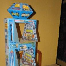 Figuras de Goma y PVC: TORRE GRANDE ESPACIAL COMAN BOYS COMANDOS DEL ESPACIO COMANSI. Lote 163791326