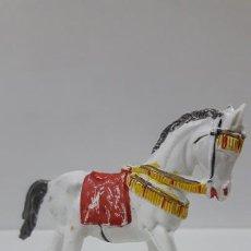 Figuras de Goma y PVC: CABALLO DE LA GUARDIA MORA . REALIZADO POR PECH . AÑOS 60. Lote 163950502
