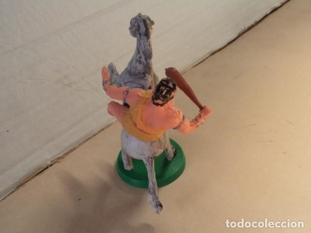 Figuras de Goma y PVC: FIGURA DE PLÁSTICO TAURUS A CABALLO ESTEREOPLAST - Foto 3 - 163968250