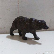 Figuras de Goma y PVC: OSO GRESLEY EN GOMA PECH. Lote 163969658