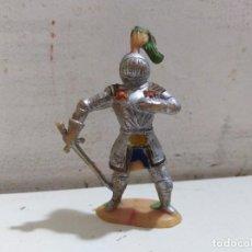 Figuras de Goma y PVC: FIGURA PVC MEDIEVAL CRUZADOS . Lote 163971050