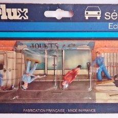 Figuras de Goma y PVC: STARLUX FRANCIA - PACK 6 FIGURAS PINTADAS A MANO DE 35 MM - ESCALA 1/50 / EN PLÁSTICO. Lote 164123926