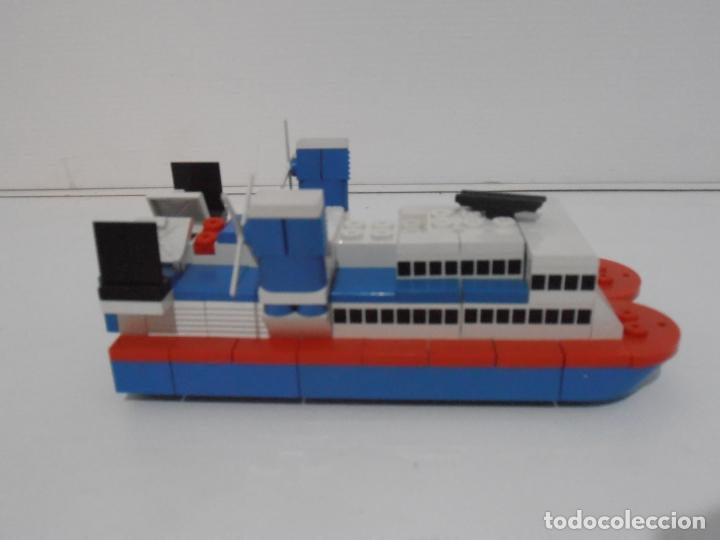 Figuras de Goma y PVC: TENTE MAR MOTOR, HOVERCRAFT, EXIN REF 0642, COMPLETO, INSTRUCCIONES Y CAJA, FUNCIONANDO - Foto 4 - 164191290