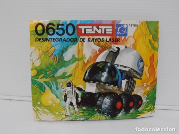 Figuras de Goma y PVC: TENTE ASTRO, DESINTEGRADOR DE RAYOS LASER, EXIN REF 0650, COMPLETO, CAJA E INSTRUCCIONES - Foto 6 - 164194366