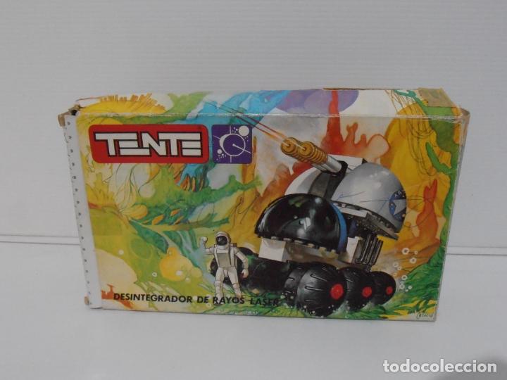 Figuras de Goma y PVC: TENTE ASTRO, DESINTEGRADOR DE RAYOS LASER, EXIN REF 0650, COMPLETO, CAJA E INSTRUCCIONES - Foto 7 - 164194366