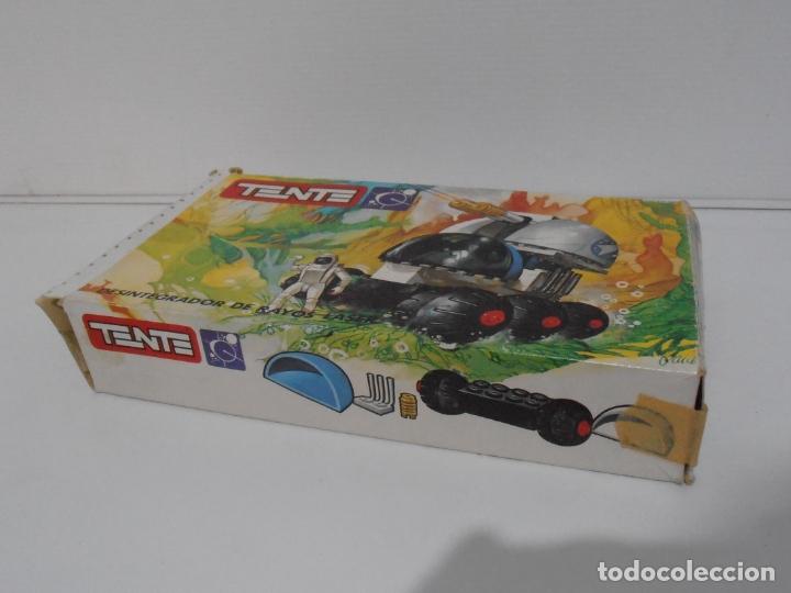 Figuras de Goma y PVC: TENTE ASTRO, DESINTEGRADOR DE RAYOS LASER, EXIN REF 0650, COMPLETO, CAJA E INSTRUCCIONES - Foto 8 - 164194366