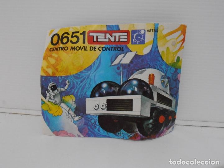 Figuras de Goma y PVC: TENTE ASTRO, CENTRO MOVIL DE CONTROL, EXIN REF 0651, COMPLETO, CAJA E INSTRUCCIONES - Foto 7 - 164195282