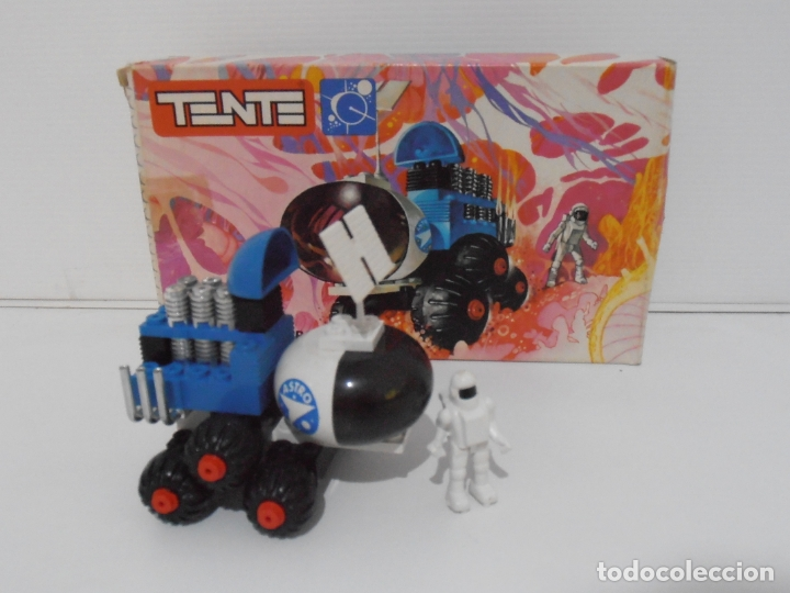 Figuras de Goma y PVC: TENTE ASTRO, EXPLORADOR ESPACIAL, EXIN REF 0722, COMPLETO, CAJA E INSTRUCCIONES, TUBO ESCAPE ROTO - Foto 2 - 164199098