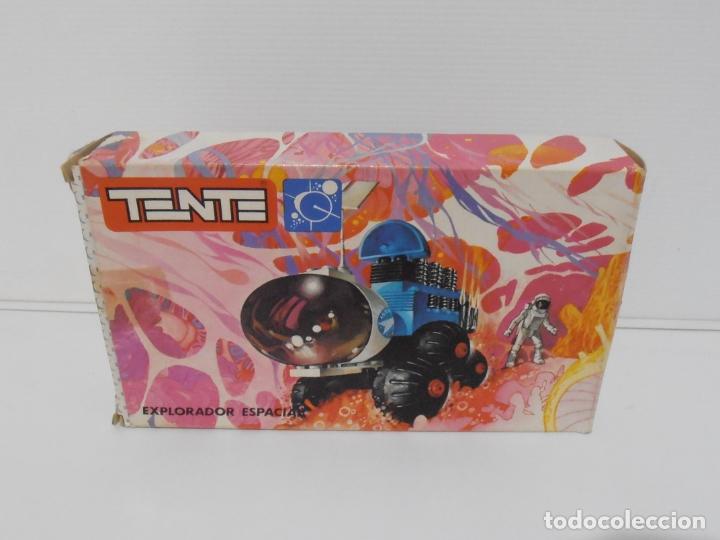 Figuras de Goma y PVC: TENTE ASTRO, EXPLORADOR ESPACIAL, EXIN REF 0722, COMPLETO, CAJA E INSTRUCCIONES, TUBO ESCAPE ROTO - Foto 9 - 164199098