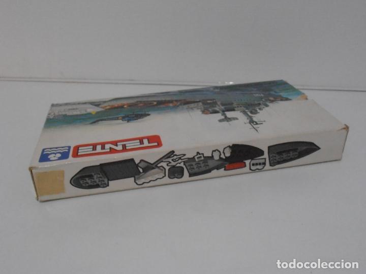 Figuras de Goma y PVC: TENTE MAR, FRAGATA LANZAMISILES, EXIN REF 0615, COMPLETO, CAJA E INSTRUCCIONES - Foto 11 - 164200578