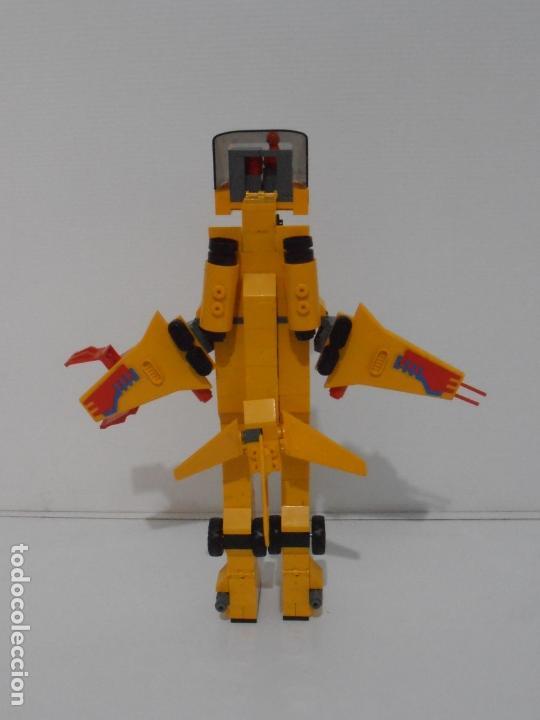 Figuras de Goma y PVC: TENTE ROBLOCK, HERCULES, EXIN REF 0782, COMPLETO A FALTA DE DOS ANTENAS ROJAS - Foto 4 - 164214506