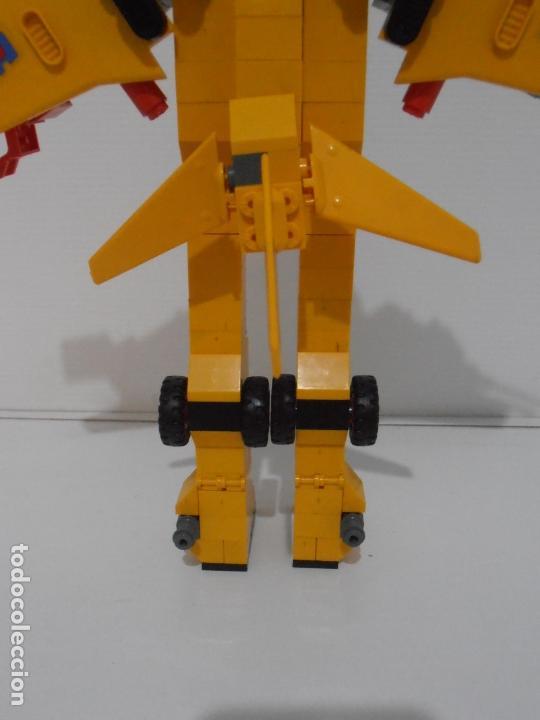 Figuras de Goma y PVC: TENTE ROBLOCK, HERCULES, EXIN REF 0782, COMPLETO A FALTA DE DOS ANTENAS ROJAS - Foto 6 - 164214506