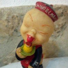 Figuras de Goma y PVC: FIGURA DE GOMA FLAN CHINO MANDARIN. Lote 164219709