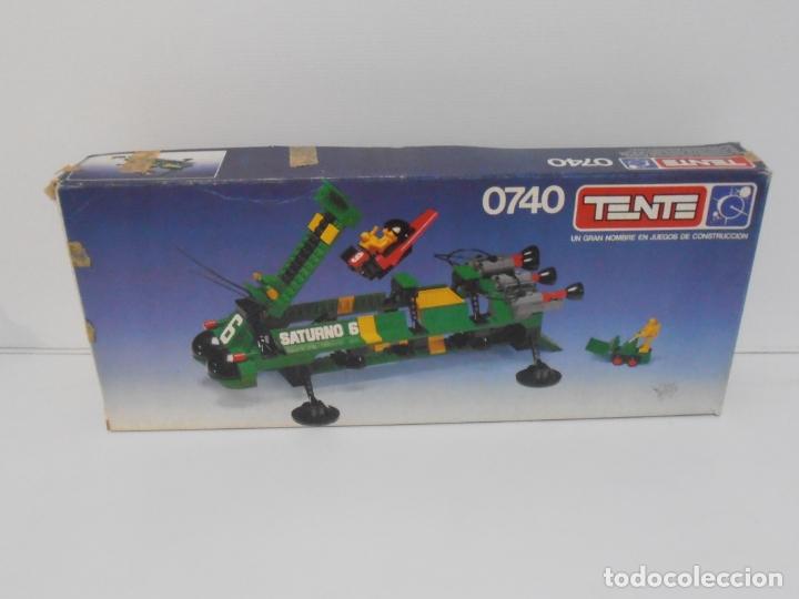 Figuras de Goma y PVC: TENTE ASTRO, SUPERTRANSPORTE INTERESTELAR, EXIN REF 0740, COMPLETO, CAJA, INSTRUCCIONES Y PEGATINAS - Foto 13 - 164221498