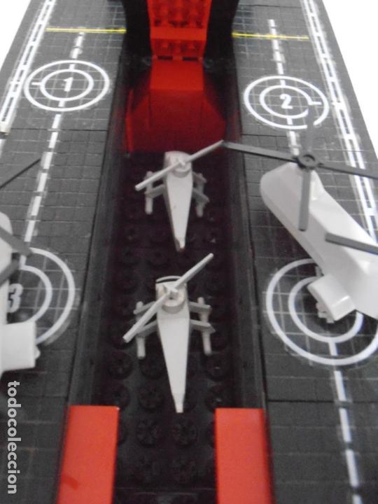 Figuras de Goma y PVC: TENTE PORTAAVIONES DRAGON, BORRAS REF 70115, CAJA, INSTRUCCIONES Y PEGATINAS, FALTAN 2 LANZATORPEDOS - Foto 8 - 164224190