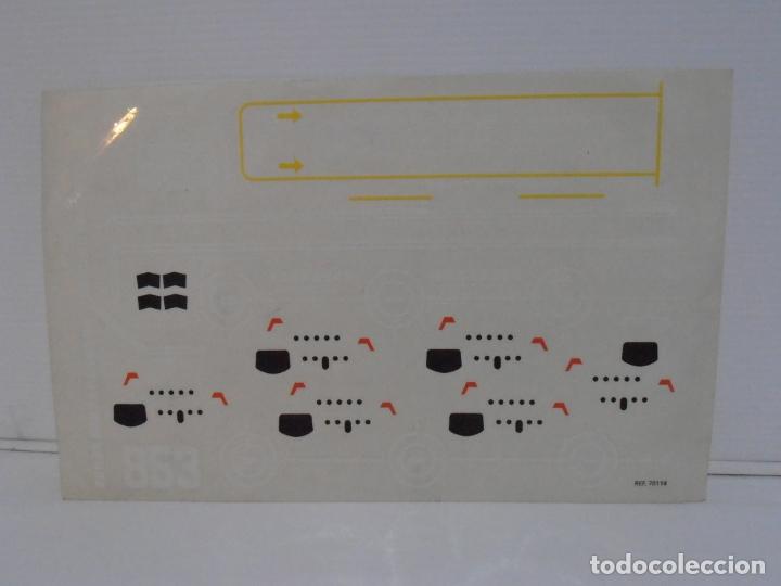 Figuras de Goma y PVC: TENTE PORTAAVIONES DRAGON, BORRAS REF 70115, CAJA, INSTRUCCIONES Y PEGATINAS, FALTAN 2 LANZATORPEDOS - Foto 14 - 164224190
