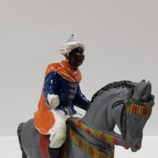 Figuras de Goma y PVC: SOLDADO DE LA GUARDIA MORA . REALIZADO POR PECH . AÑOS 50 EN GOMA . CABALLO NO INCLUIDO. Lote 164789094