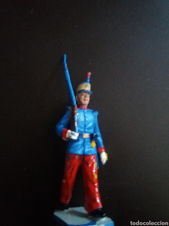 SOLDADO GUARDIA REAL ALFONSO XIII (Juguetes - Figuras de Goma y Pvc - Reamsa y Gomarsa)