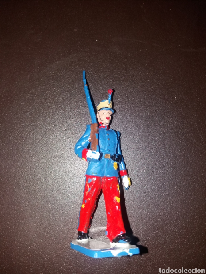 Figuras de Goma y PVC: soldado guardia real alfonso XIII - Foto 2 - 164895961
