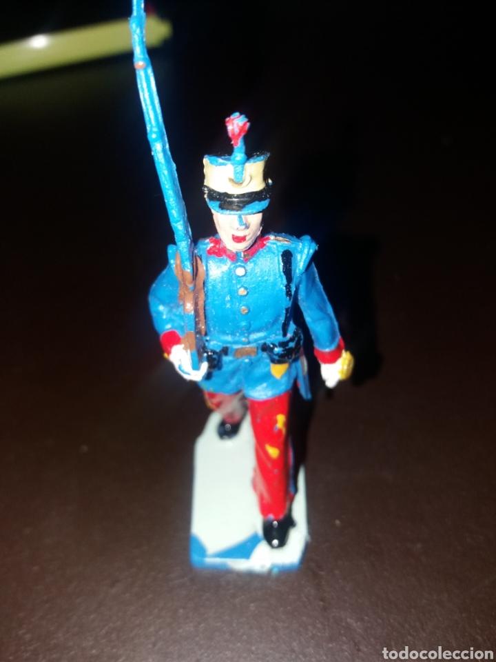 Figuras de Goma y PVC: soldado guardia real alfonso XIII - Foto 5 - 164895961