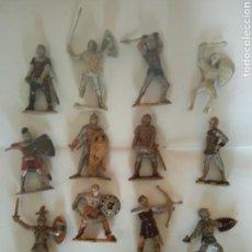 Figuras de Goma y PVC: LOTE MEDIEVALES PECH, JECSAN, COMANSI. Lote 164897900