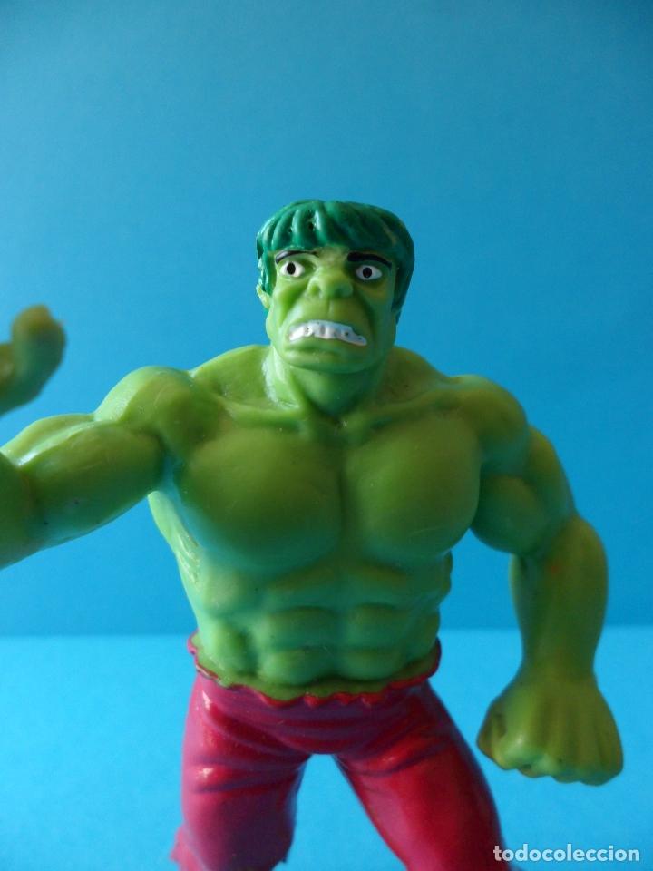 Figuras de Goma y PVC: Figura en goma o PVC de la Masa - El increible Hulk, 1987 Marvel - Comics Spain - Foto 2 - 164908378