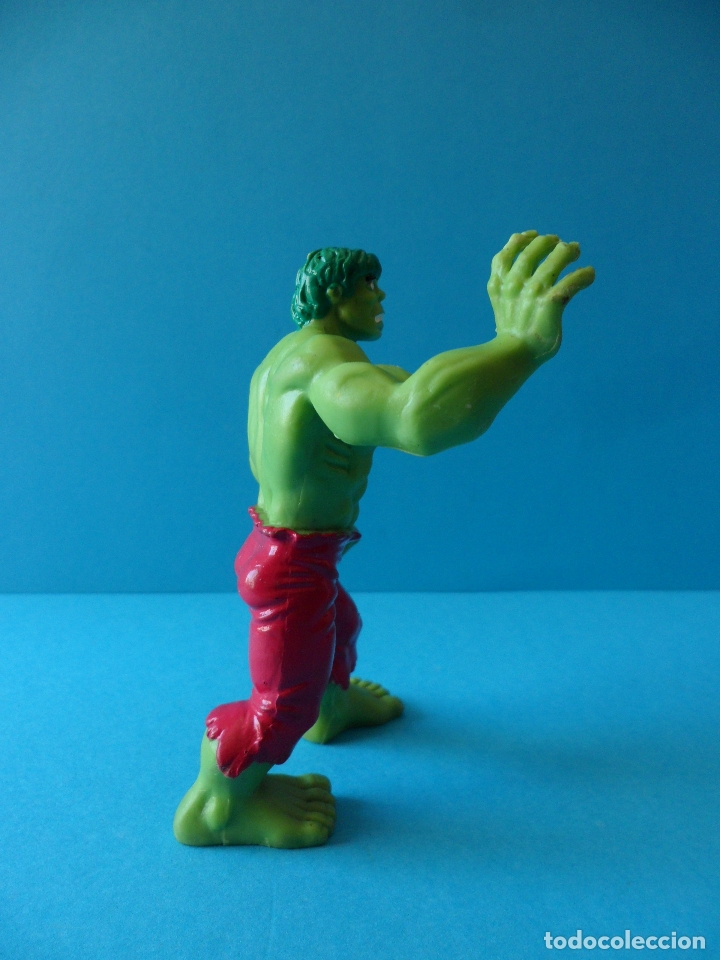 Figuras de Goma y PVC: Figura en goma o PVC de la Masa - El increible Hulk, 1987 Marvel - Comics Spain - Foto 3 - 164908378