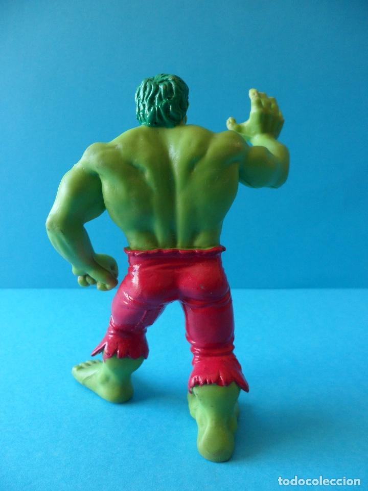 Figuras de Goma y PVC: Figura en goma o PVC de la Masa - El increible Hulk, 1987 Marvel - Comics Spain - Foto 4 - 164908378