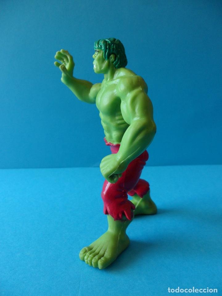 Figuras de Goma y PVC: Figura en goma o PVC de la Masa - El increible Hulk, 1987 Marvel - Comics Spain - Foto 5 - 164908378