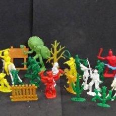 Figuras de Goma y PVC: REAMSA JECSAN....FIGURAS MONOCOLOR LOTE. Lote 164958058