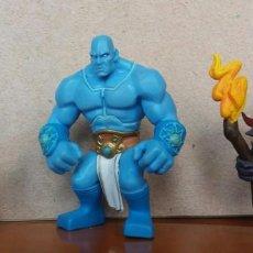 Figuras de Goma y PVC: 3 FIGURAS PVC VIDEOJUEGO MIGHT & MAGIC CLASH OF HEROES. MAGO, TITÁN Y DEMONIO. Lote 164963826