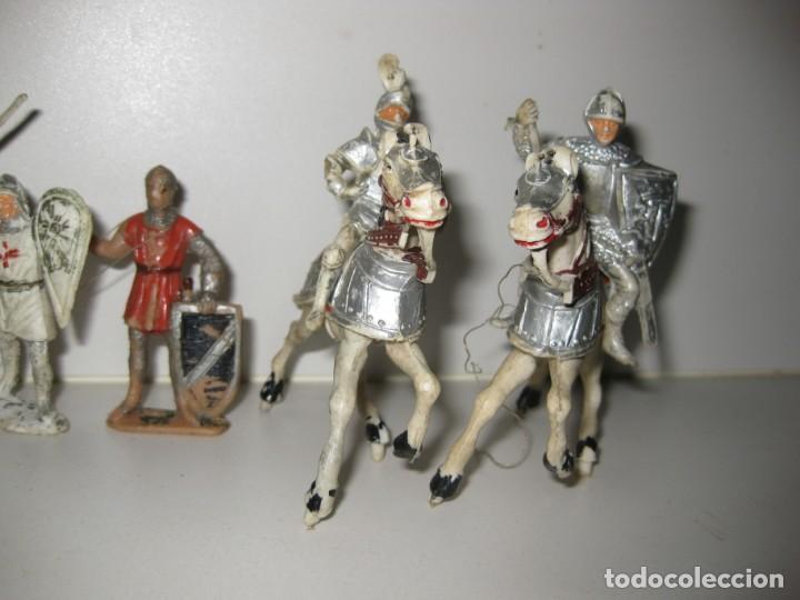 Figuras de Goma y PVC: lote soldado caballero medieval reamsa jinete cruzadas . ricardo corazon de leon - Foto 2 - 164971182