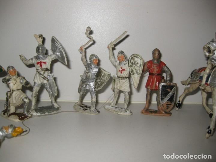 Figuras de Goma y PVC: lote soldado caballero medieval reamsa jinete cruzadas . ricardo corazon de leon - Foto 3 - 164971182