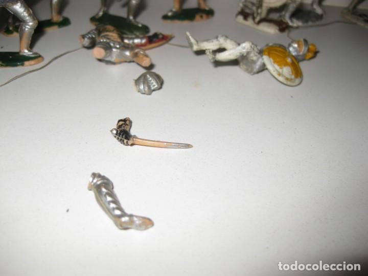 Figuras de Goma y PVC: lote soldado caballero medieval reamsa jinete cruzadas . ricardo corazon de leon - Foto 5 - 164971182