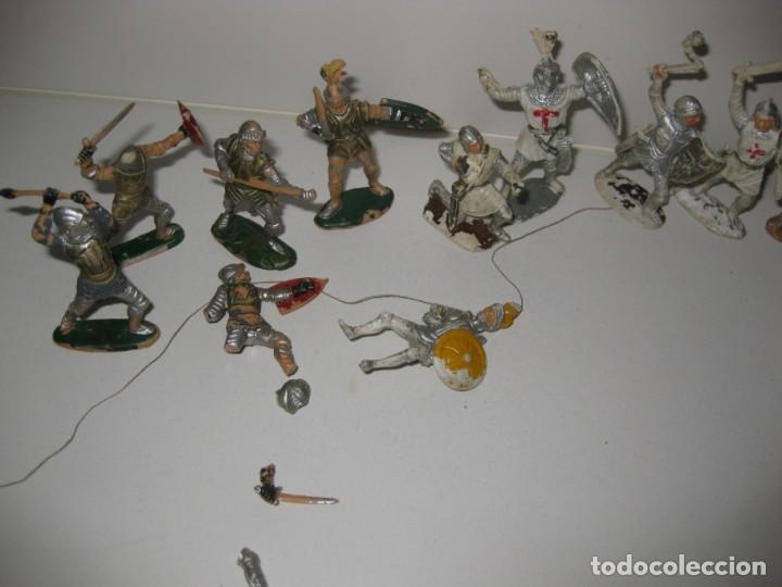 Figuras de Goma y PVC: lote soldado caballero medieval reamsa jinete cruzadas . ricardo corazon de leon - Foto 6 - 164971182
