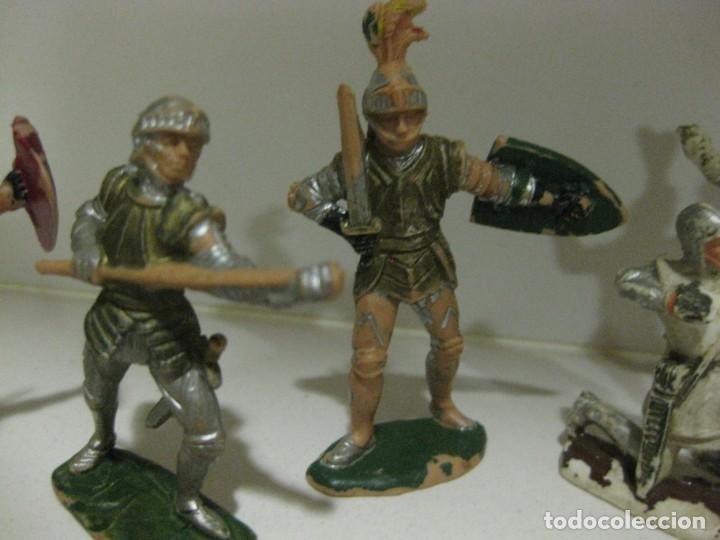 Figuras de Goma y PVC: lote soldado caballero medieval reamsa jinete cruzadas . ricardo corazon de leon - Foto 9 - 164971182