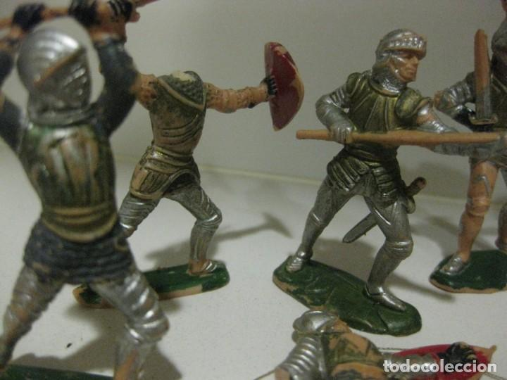 Figuras de Goma y PVC: lote soldado caballero medieval reamsa jinete cruzadas . ricardo corazon de leon - Foto 10 - 164971182