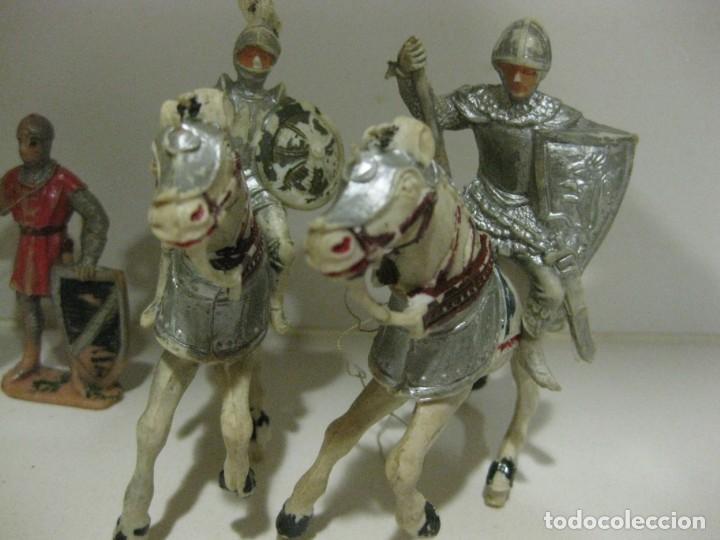 Figuras de Goma y PVC: lote soldado caballero medieval reamsa jinete cruzadas . ricardo corazon de leon - Foto 11 - 164971182