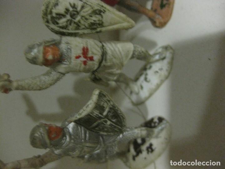 Figuras de Goma y PVC: lote soldado caballero medieval reamsa jinete cruzadas . ricardo corazon de leon - Foto 14 - 164971182