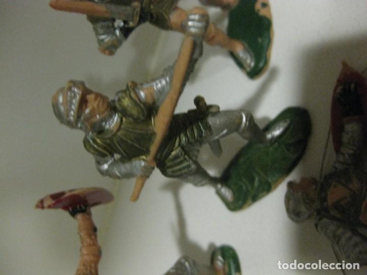 Figuras de Goma y PVC: lote soldado caballero medieval reamsa jinete cruzadas . ricardo corazon de leon - Foto 15 - 164971182