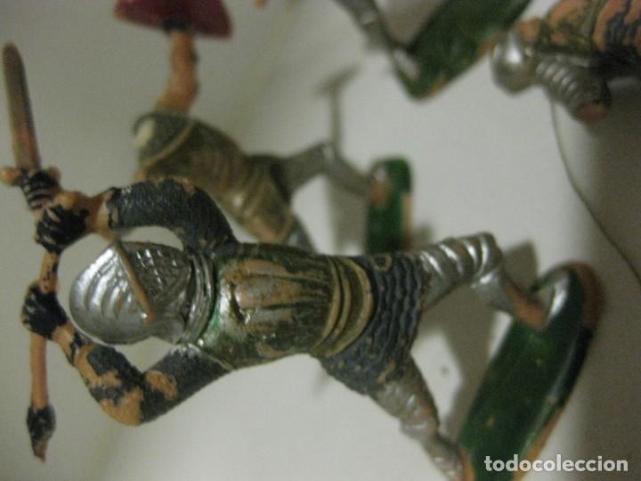 Figuras de Goma y PVC: lote soldado caballero medieval reamsa jinete cruzadas . ricardo corazon de leon - Foto 17 - 164971182