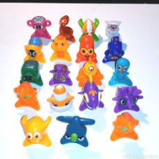 Figuras de Goma y PVC: LOTE 19 FIGURAS + BOLSITA - COLECCION STAR MONSTERS - POCKET FRIENDS. Lote 164975137